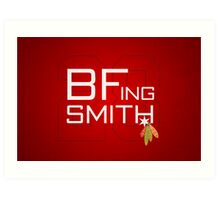 BFing Smith Art Print