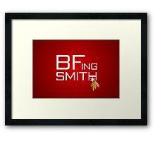 BFing Smith Framed Print