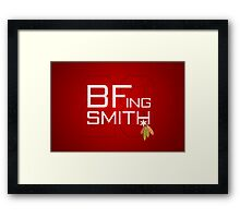 BFing Smith Framed Print