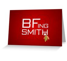 BFing Smith Greeting Card