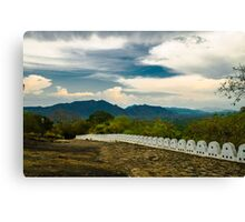 Exciting Clouds Canvas Print