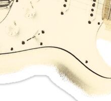 Jimmy Hendrix Stratocaster Sticker