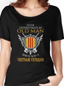 Old Man - Vietnam Veteran Tshirt Women's Relaxed Fit T-Shirt