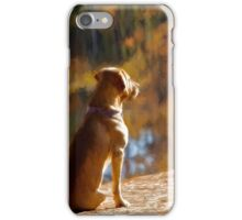 Beau's Waiting iPhone Case/Skin