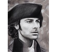 Aidan Turner - Ross Poldark - Pastel Portrait 1 Photographic Print