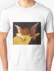Rosso Fiorentino - Musical Angel 1522. Child portrait: cute baby, kid, children, angel, child, kids, lovely family, boys and girls, boy and girl, mom mum mammy mam, childhood Unisex T-Shirt