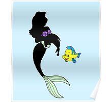 Dark Ariel - The little Mermaid - Disney Poster
