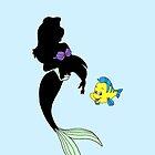 Dark Ariel - The little Mermaid - Disney by galatria