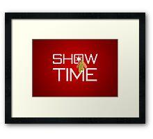 Show Time Framed Print