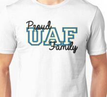 Proud Alaska UAF Family Unisex T-Shirt