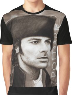 Aidan Turner - Ross Poldark - Pastel Portrait 2 Graphic T-Shirt