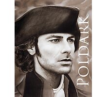 Aidan Turner - Ross Poldark - Pastel Portrait 2 Photographic Print