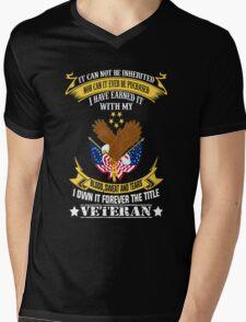 Veterans tshirt Mens V-Neck T-Shirt