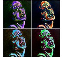Gloria Swanson - Collage Photographic Print