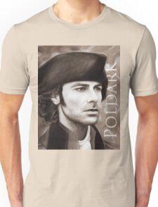 Aidan Turner - Ross Poldark - Pastel Portrait 2 Unisex T-Shirt