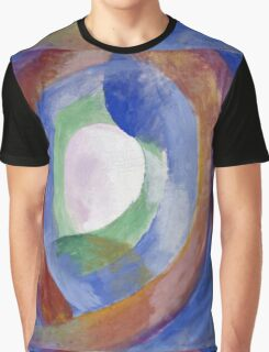 Robert Delaunay -  Forms Circular. Abstract painting: abstraction, geometric, expressionism, composition, lines, forms, creative fusion, music, kaleidoscope, illusion, fantasy future Graphic T-Shirt