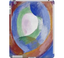 Robert Delaunay -  Forms Circular. Abstract painting: abstraction, geometric, expressionism, composition, lines, forms, creative fusion, music, kaleidoscope, illusion, fantasy future iPad Case/Skin