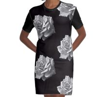 Dark Beauty Graphic T-Shirt Dress