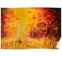 Autumn City Poster