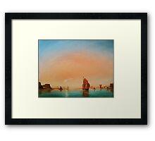 Calm Sail Framed Print