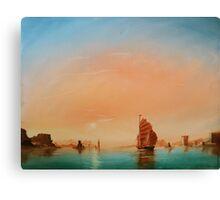 Calm Sail Canvas Print