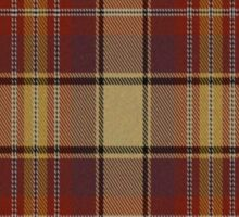 02629 Placer County, California Fashion Tartan  Sticker