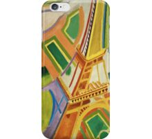 Robert Delaunay - Eiffel Tower.Tour Eiffel. Abstract painting: Eiffel, Tower , Tour , composition, lines, forms, creative fusion, music, kaleidoscope, illusion, fantasy future iPhone Case/Skin