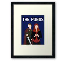 The Ponds Framed Print