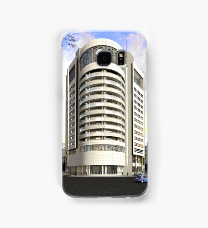 3D Corporate Architectural Exterior Design Rendering Samsung Galaxy Case/Skin