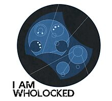 I AM WHOLOCKED Photographic Print