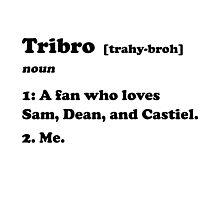 Tribro Definintion V2 Photographic Print