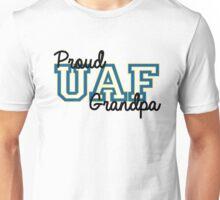Proud Alaska UAF Grandpa Unisex T-Shirt