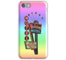 Holiday Motel iPhone Case/Skin