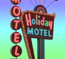 Holiday Motel Sticker