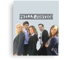 Philly Justice Canvas Print