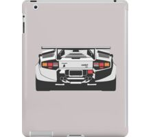 lamborghini countach iPad Case/Skin