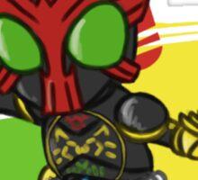 Kamen Rider OOO - Tatoba Combo Sticker