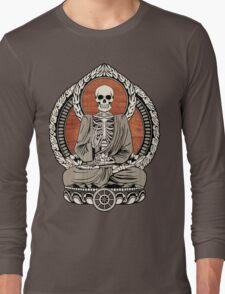 Skeleton Buddha Long Sleeve T-Shirt