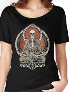 Skeleton Buddha Women's Relaxed Fit T-Shirt