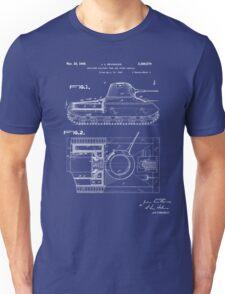 Tank Patent - Blueprint Unisex T-Shirt