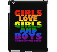 lgbt pride shirt iPad Case/Skin