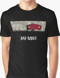Bad Robot Lost Alcatraz Revolution Film CHARCOAL Graphic T-Shirt