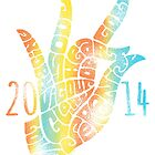 Heart hand,Akash mudra by aygeartist