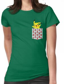 Poketemon Womens Fitted T-Shirt