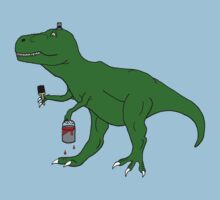 Picassosaurus Rex by nyancat