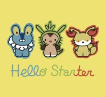 Hello Starters One Piece - Short Sleeve