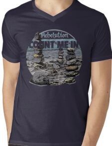 Rebelution Count Me In Mens V-Neck T-Shirt