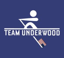 Team Underwood Rowing Shirt by CaffeineSpark