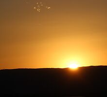 Sunset in April by virginian