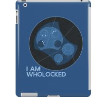 I AM WHOLOCKED iPad Case/Skin